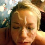 massive facial off her cousin